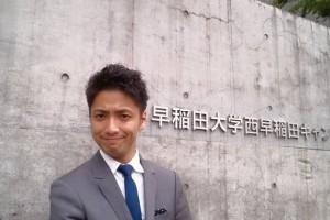 早稲田大学にて講演を行いました!!