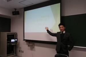 東海大学にて講演を行いました!!